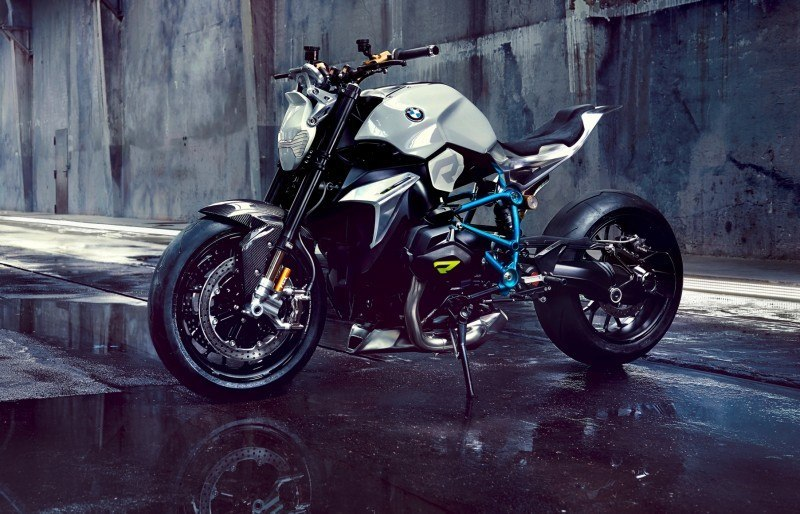 BMW Motorrad - Concept Roadster is Boxer Basics Motorcycle for Lake Cuomo 19