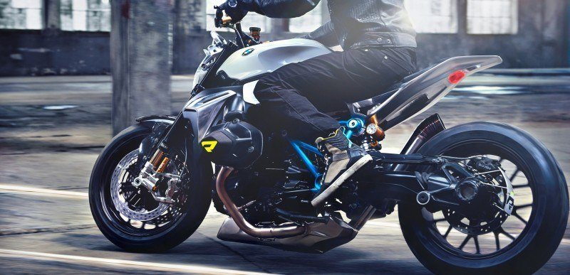 BMW Motorrad - Concept Roadster is Boxer Basics Motorcycle for Lake Cuomo 4