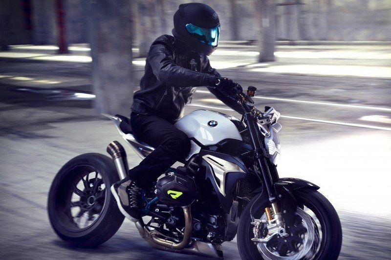 BMW Motorrad - Concept Roadster is Boxer Basics Motorcycle for Lake Cuomo 6