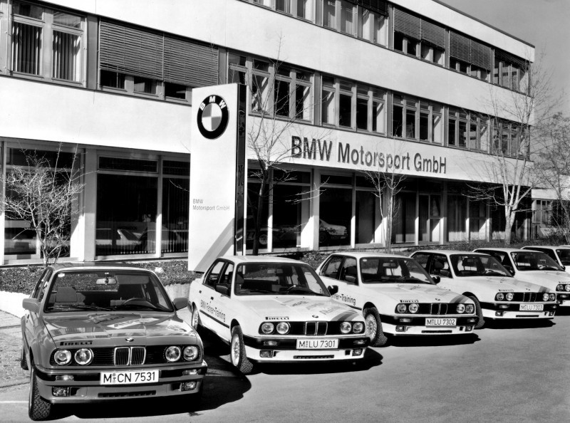 BMW Motorsport GmbH - The M Division History in 50 Iconic Photos 50