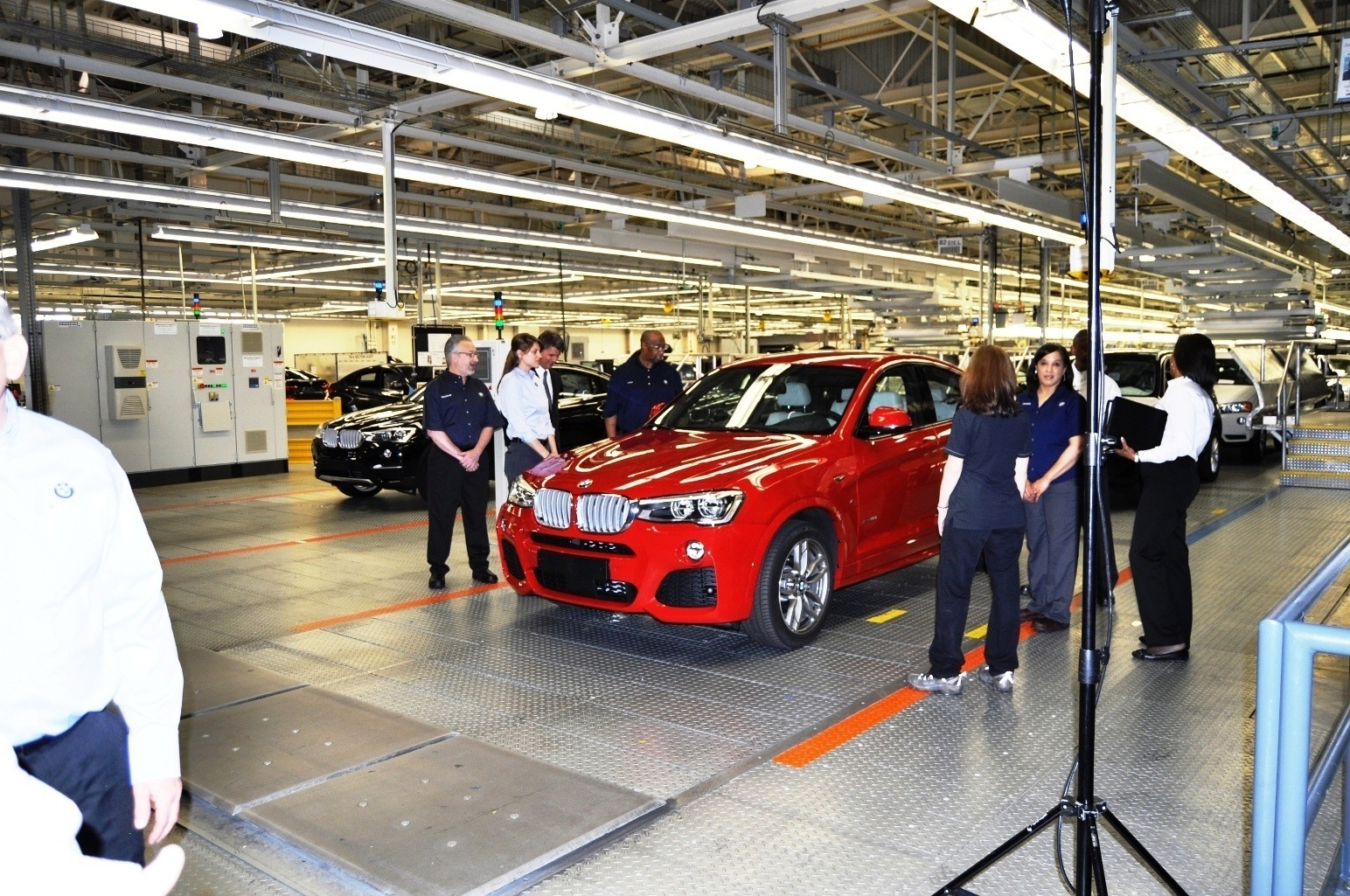 The Opposite Of Assembly : Bmw factory assembly line will make the