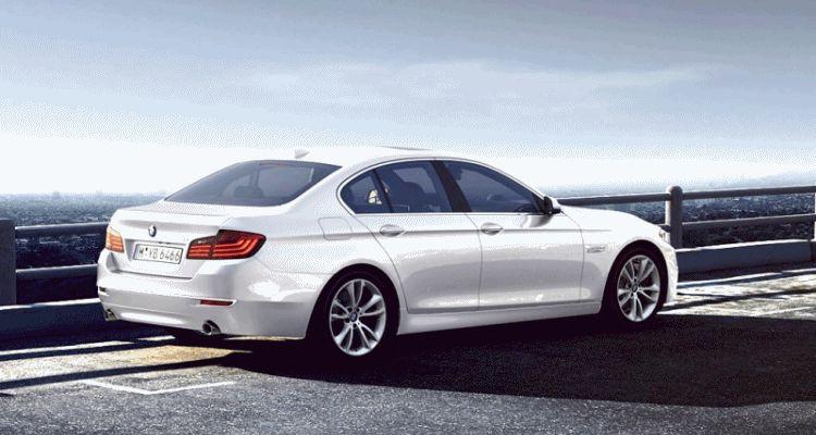 BMW global 5 series visualizer animation 1