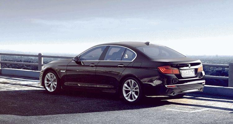 BMW global 5 series visualizer animation 2