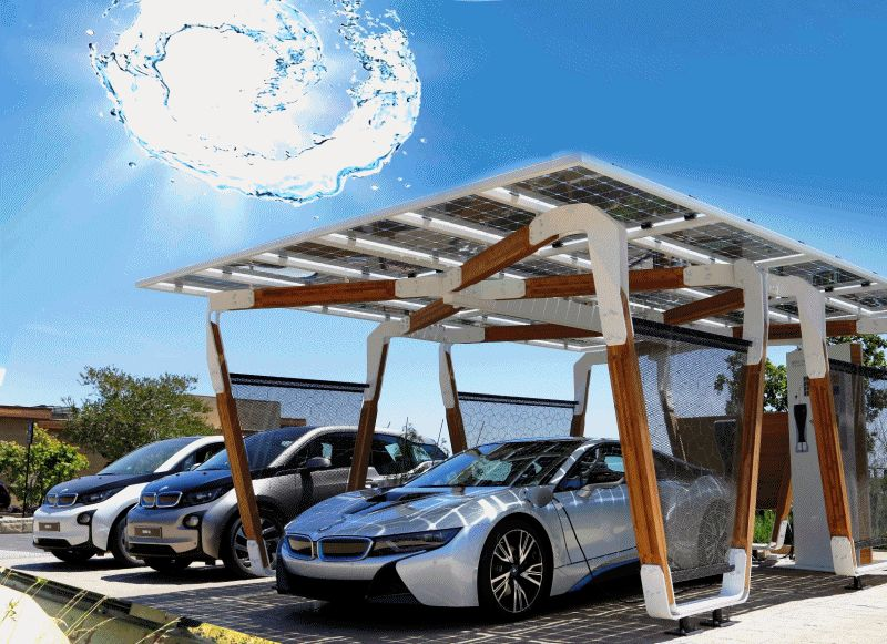 Bmw Debuts Solar Carport And Triples Carbon Fiber Output At Hydro Powered Washington Factory