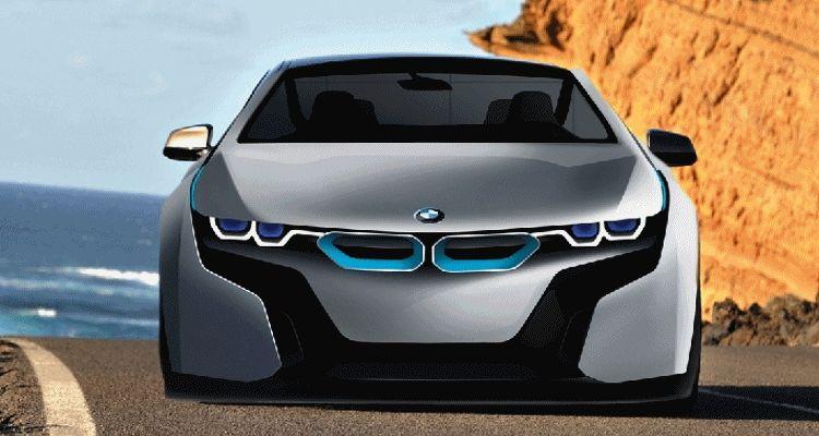 BMW i6 2017 GIF nose