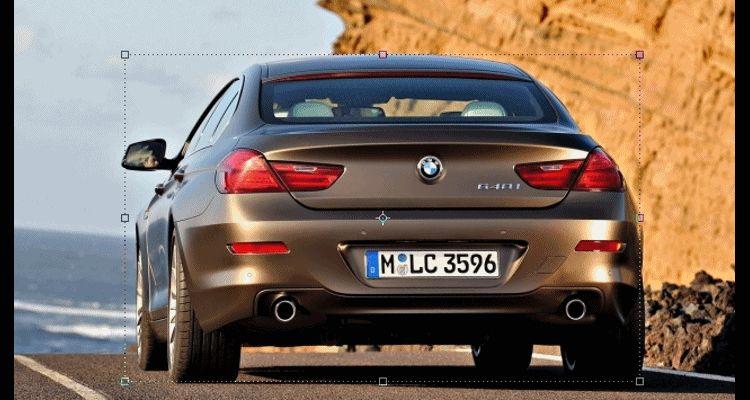 BMW i6 2017 GIF tail