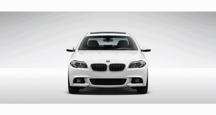 BMW usa 5 series visualizer animation 1