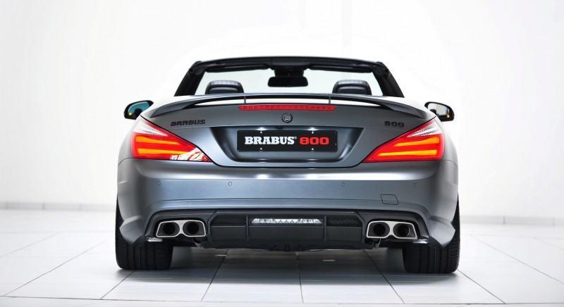 BRABUS 800 V12 Roadster 33