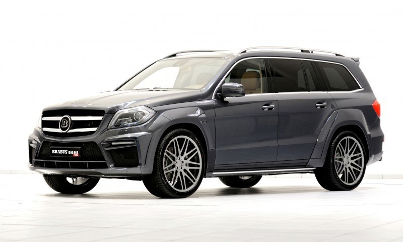 BRABUS B63S 700 Widestar Upgrades for Mercedes-Benz GL-Class Are Ready for Hollywood A-List 1