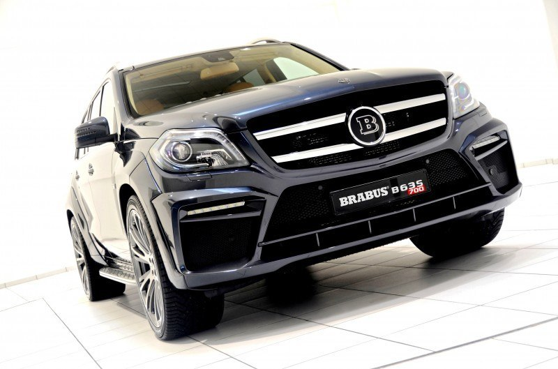 BRABUS B63S 700 Widestar Upgrades for Mercedes-Benz GL-Class Are Ready for Hollywood A-List 13