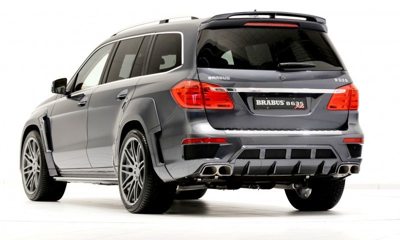 186mph 7 Seat Suv Brabus B63s 700 Widestar For Mercedes Benz Gl Class
