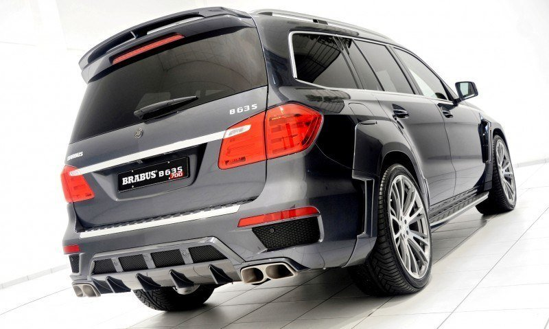 BRABUS B63S 700 Widestar Upgrades for Mercedes-Benz GL-Class Are Ready for Hollywood A-List 16