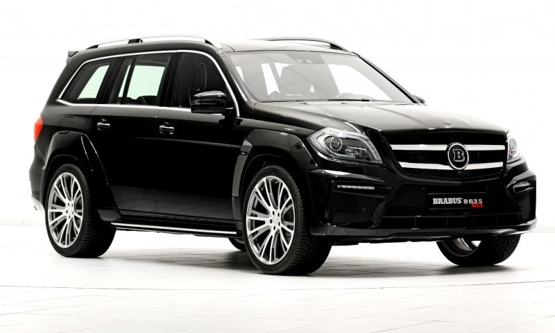 BRABUS B63S 700 Widestar Upgrades for Mercedes-Benz GL-Class Are Ready for Hollywood A-List 27