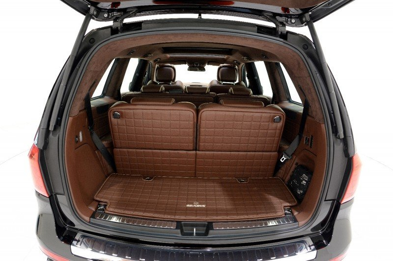 BRABUS B63S 700 Widestar Upgrades for Mercedes-Benz GL-Class Are Ready for Hollywood A-List 31