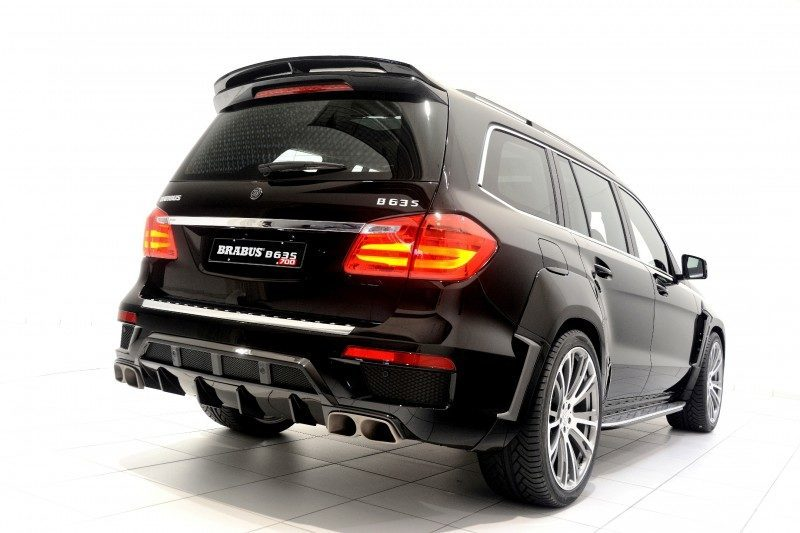 BRABUS B63S 700 Widestar Upgrades for Mercedes-Benz GL-Class Are Ready for Hollywood A-List 34
