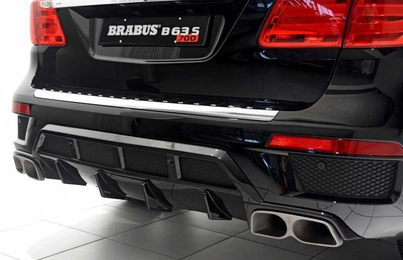 BRABUS B63S 700 Widestar Upgrades for Mercedes-Benz GL-Class Are Ready for Hollywood A-List 37