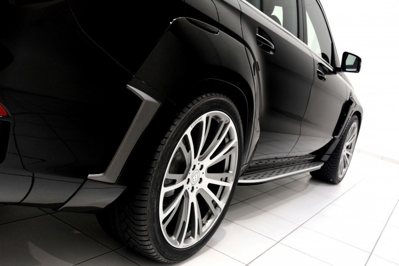 BRABUS B63S 700 Widestar Upgrades for Mercedes-Benz GL-Class Are Ready for Hollywood A-List 38