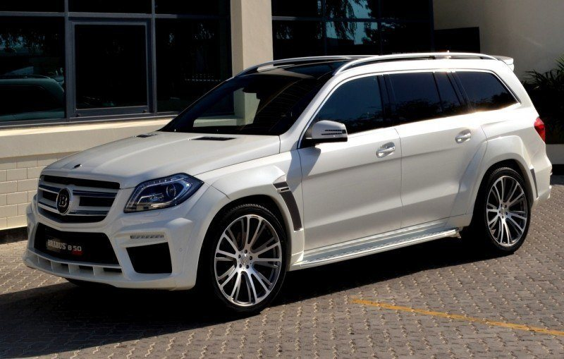 BRABUS B63S 700 Widestar Upgrades for Mercedes-Benz GL-Class Are Ready for Hollywood A-List 54