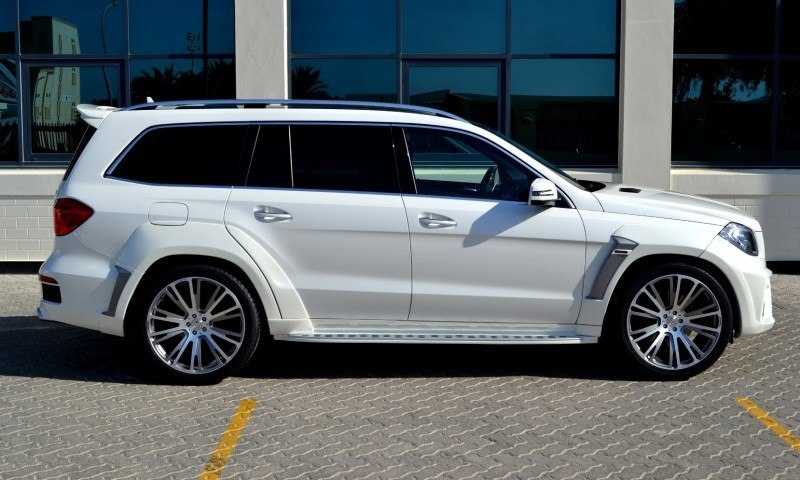 BRABUS B63S 700 Widestar Upgrades for Mercedes-Benz GL-Class Are Ready for Hollywood A-List 56