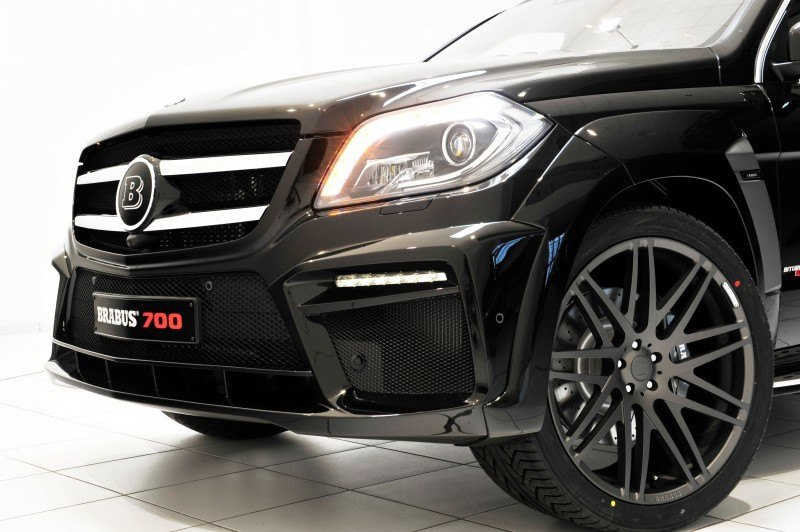 BRABUS B63S 700 Widestar Upgrades for Mercedes-Benz GL-Class Are Ready for Hollywood A-List 64