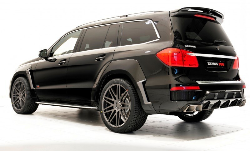 BRABUS B63S 700 Widestar Upgrades for Mercedes-Benz GL-Class Are Ready for Hollywood A-List 69