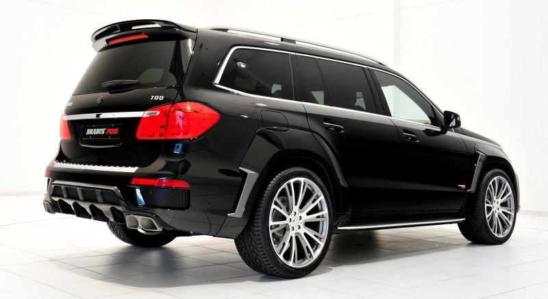 BRABUS B63S 700 Widestar Upgrades for Mercedes-Benz GL-Class Are Ready for Hollywood A-List 70