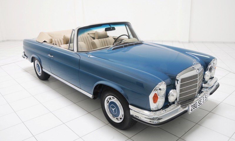 BRABUS Classic Mercedes-Benz Restoration Examples - As-New Cars of Any Age 11