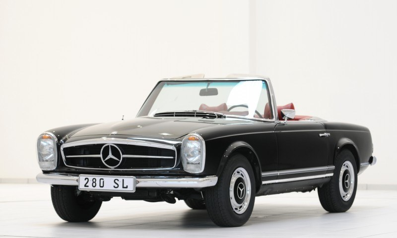 BRABUS Classic Mercedes-Benz Restoration Examples - As-New Cars of Any Age 2