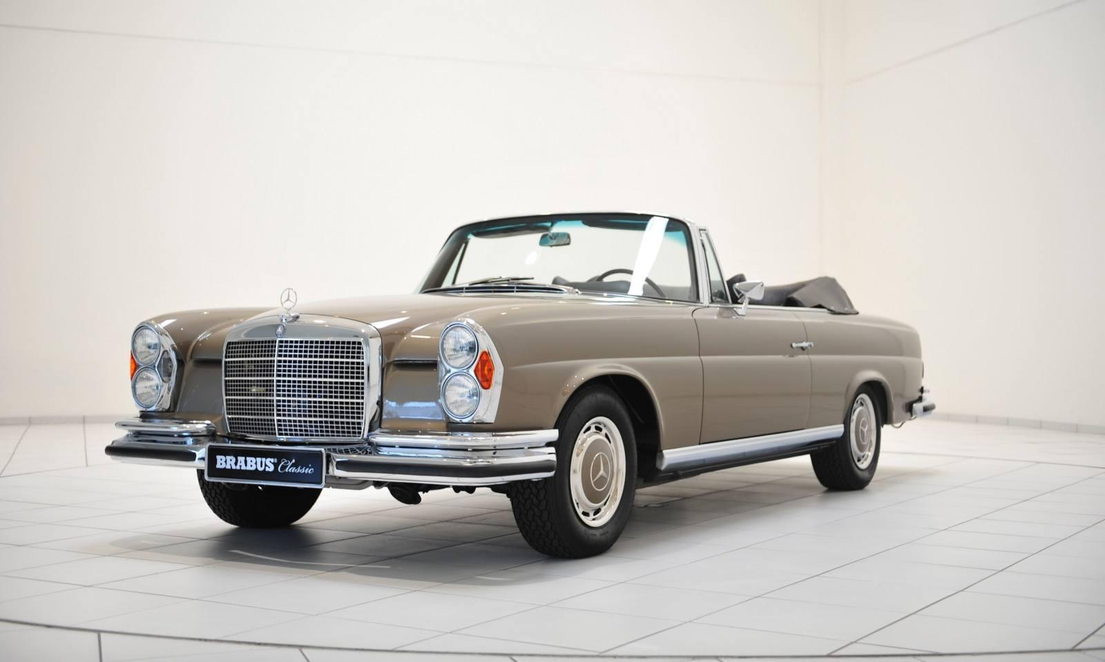 Brabus classic mercedes benz restoration examples as new for Mercedes benz restoration specialists