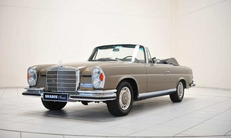 BRABUS Classic Mercedes-Benz Restoration Examples - As-New Cars of Any Age 20