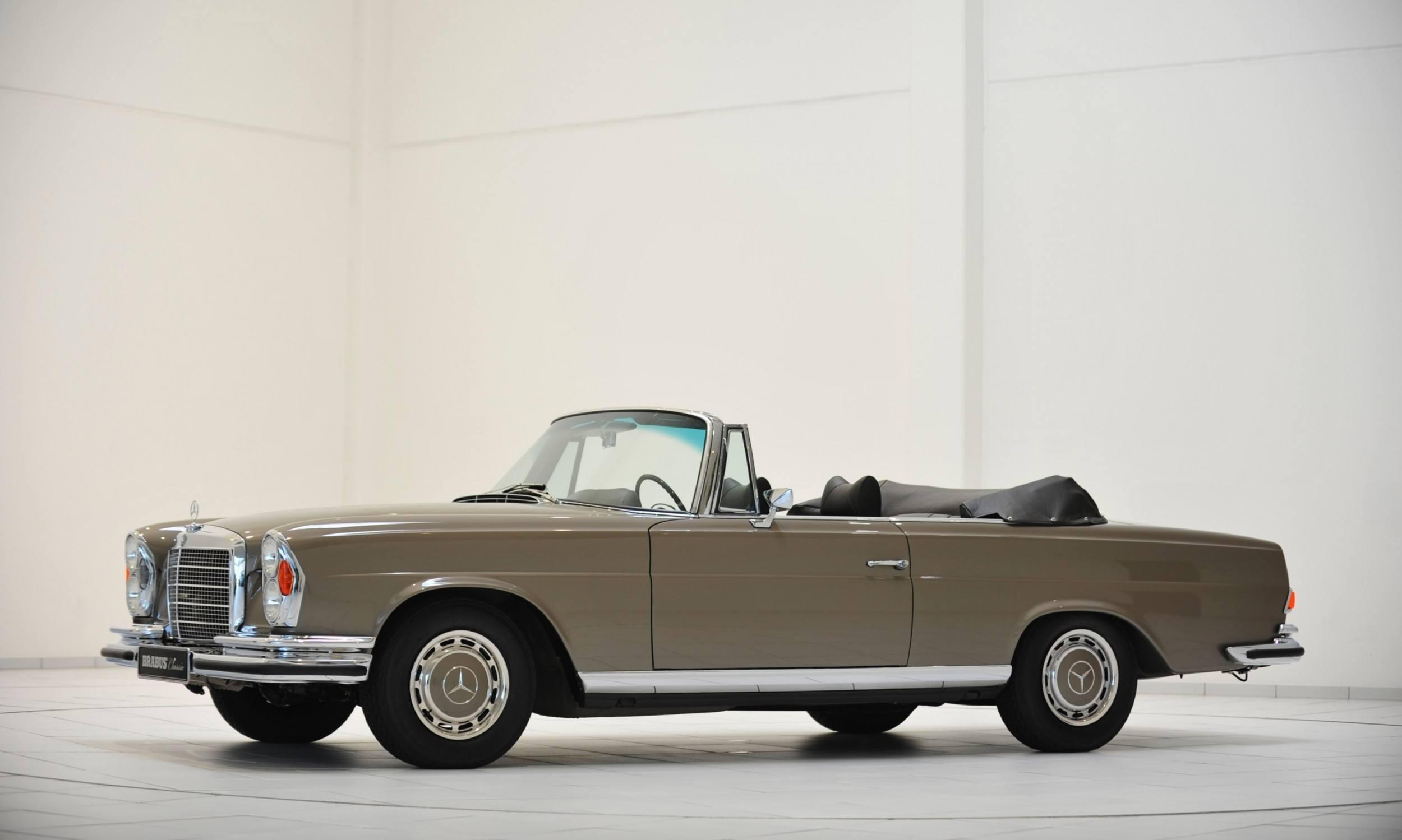 Brabus classic mercedes benz restoration examples as new for Mercedes benz restoration