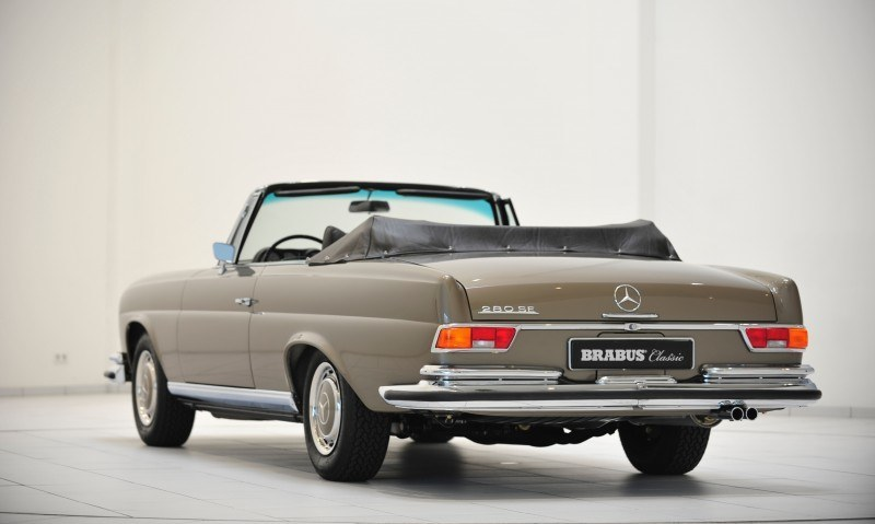 BRABUS Classic Mercedes-Benz Restoration Examples - As-New Cars of Any Age 23