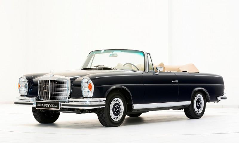 BRABUS Classic Mercedes-Benz Restoration Examples - As-New Cars of Any Age 27