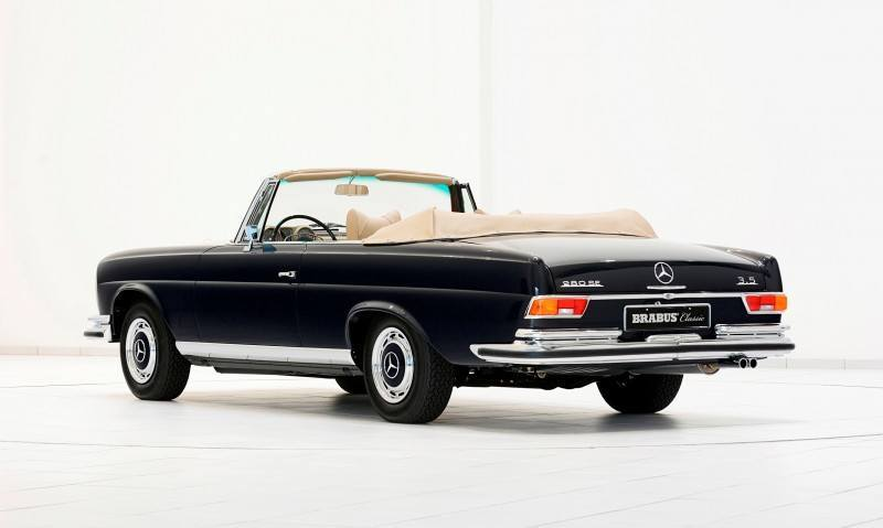 BRABUS Classic Mercedes-Benz Restoration Examples - As-New Cars of Any Age 28