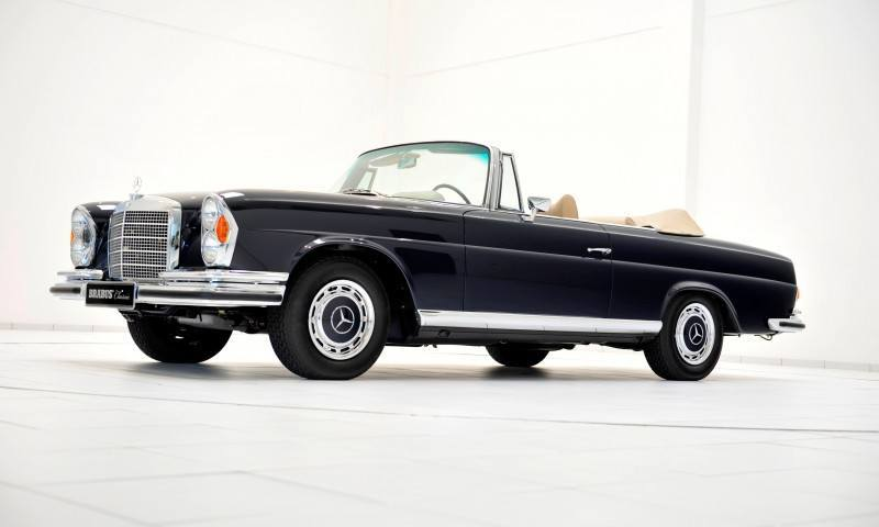 BRABUS Classic Mercedes-Benz Restoration Examples - As-New Cars of Any Age 35