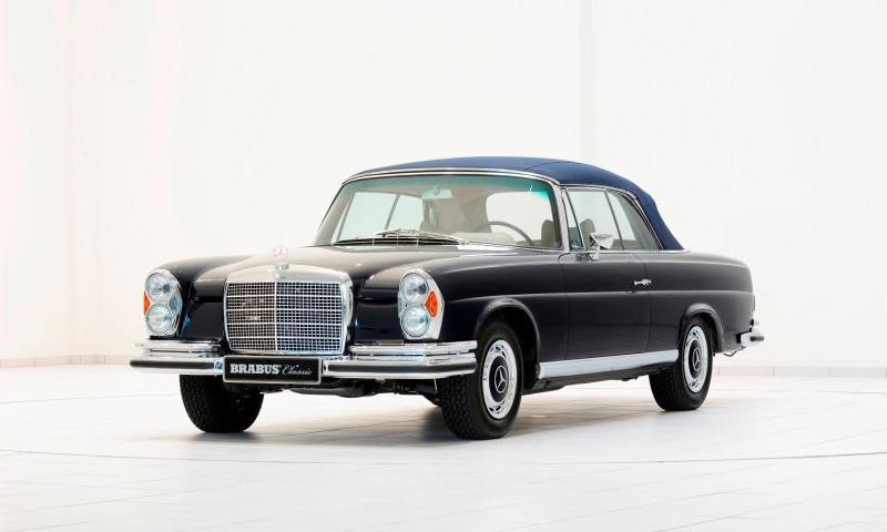 BRABUS Classic Mercedes-Benz Restoration Examples - As-New Cars of Any Age 36
