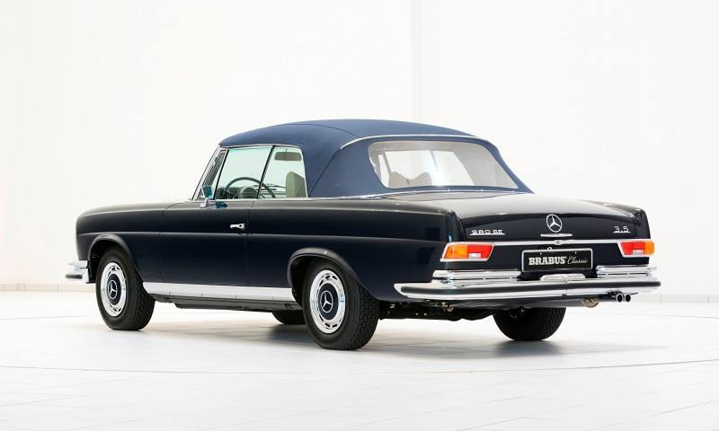 BRABUS Classic Mercedes-Benz Restoration Examples - As-New Cars of Any Age 37