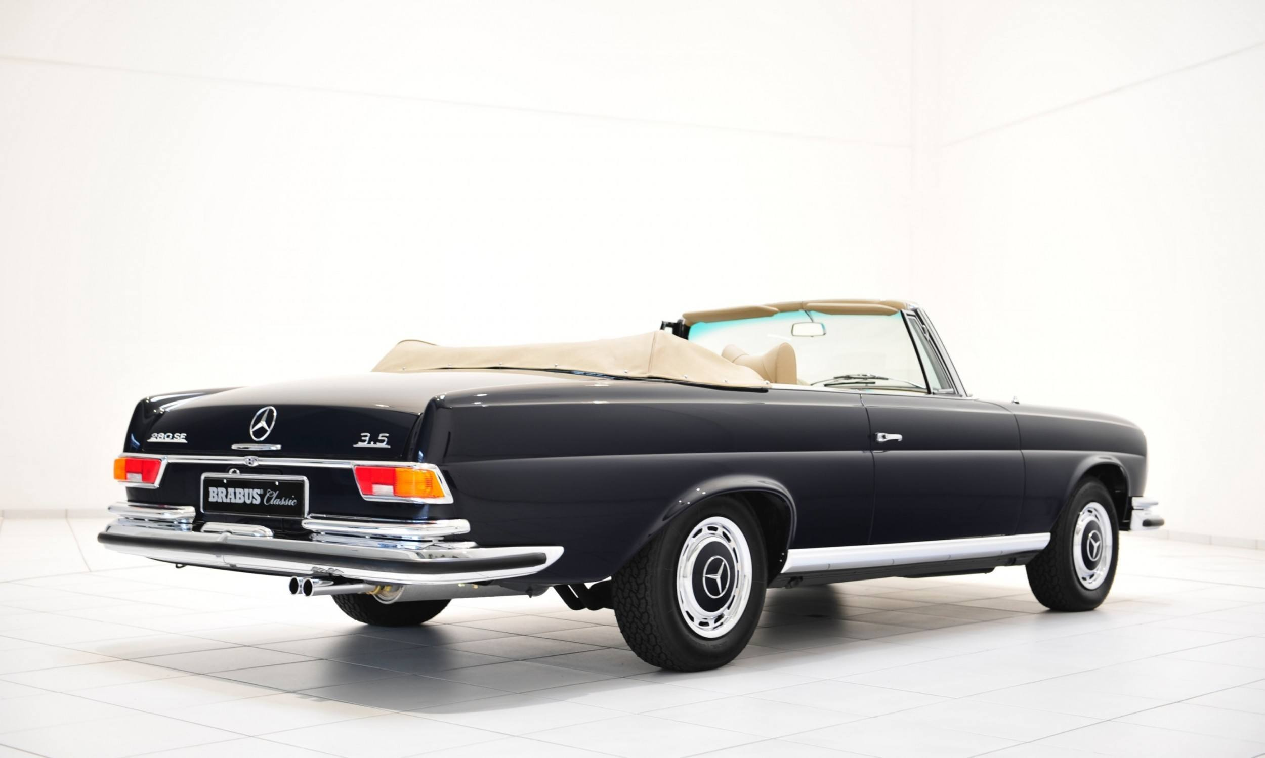 BRABUS Classic Mercedes-Benz Restoration Examples - As-New