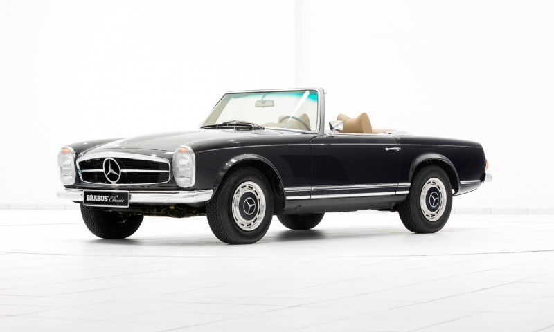 BRABUS Classic Mercedes-Benz Restoration Examples - As-New Cars of Any Age 52