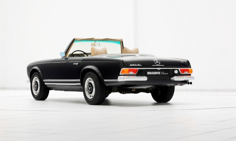 BRABUS Classic Mercedes-Benz Restoration Examples - As-New Cars of Any Age 53