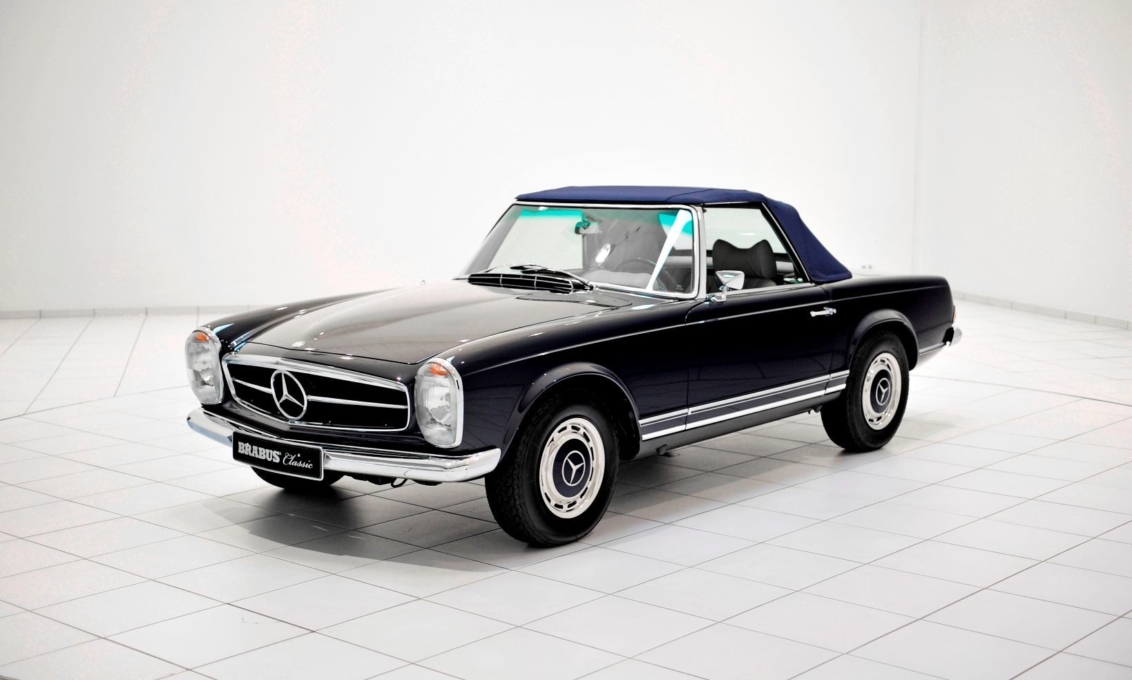 Brabus classic mercedes benz restoration examples for Vintage mercedes benz