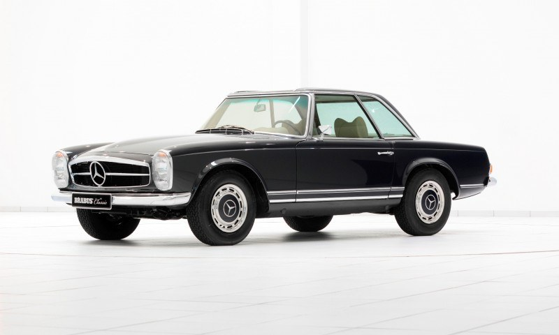 BRABUS Classic Mercedes-Benz Restoration Examples - As-New Cars of Any Age 59
