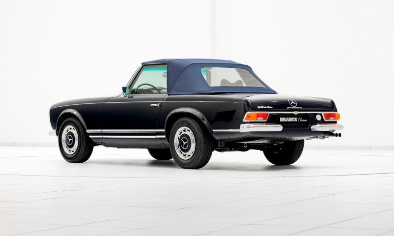 BRABUS Classic Mercedes-Benz Restoration Examples - As-New Cars of Any Age 60