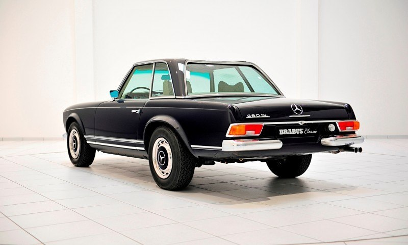 BRABUS Classic Mercedes-Benz Restoration Examples - As-New Cars of Any Age 61