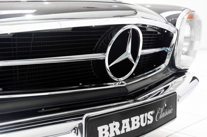 BRABUS Classic Mercedes-Benz Restoration Examples - As-New Cars of Any Age 63