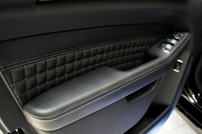 BRABUS Custom Interiors for the Mercedes-Benz ML-Class SUV 10