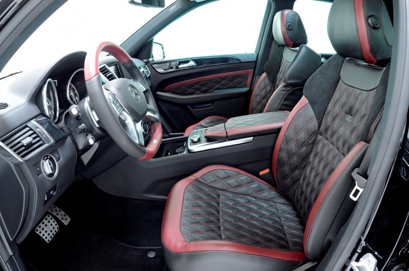 BRABUS Custom Interiors for the Mercedes-Benz ML-Class SUV 22