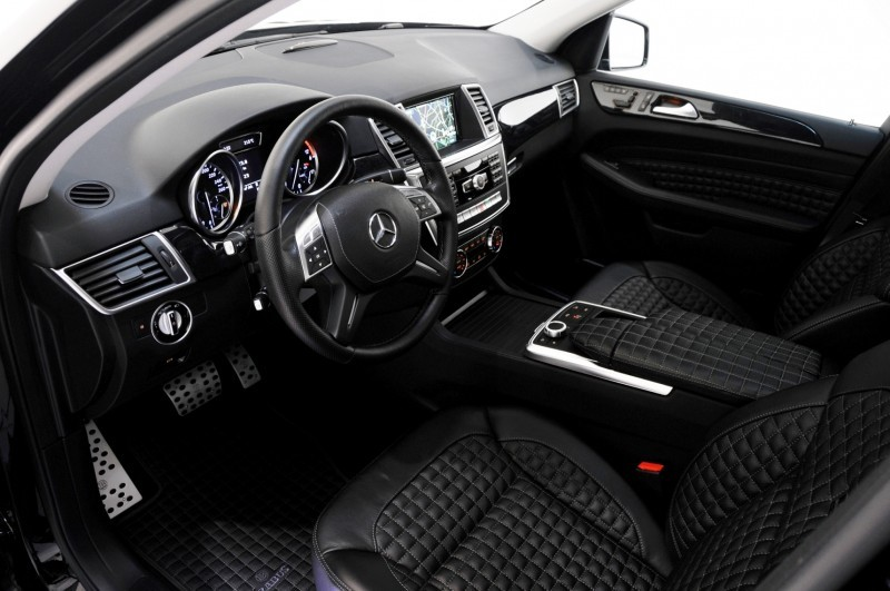BRABUS Custom Interiors for the Mercedes-Benz ML-Class SUV 3