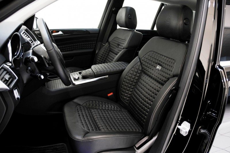 BRABUS Custom Interiors for the Mercedes-Benz ML-Class SUV 4