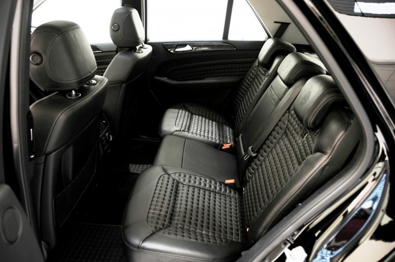 BRABUS Custom Interiors for the Mercedes-Benz ML-Class SUV 5